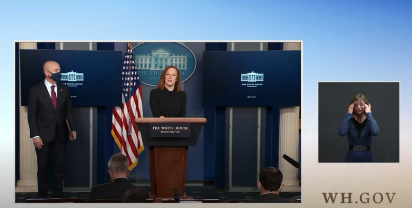 03/01/21: Press Briefing by Press Secretary Jen Psaki and Alejandro Mayorkas