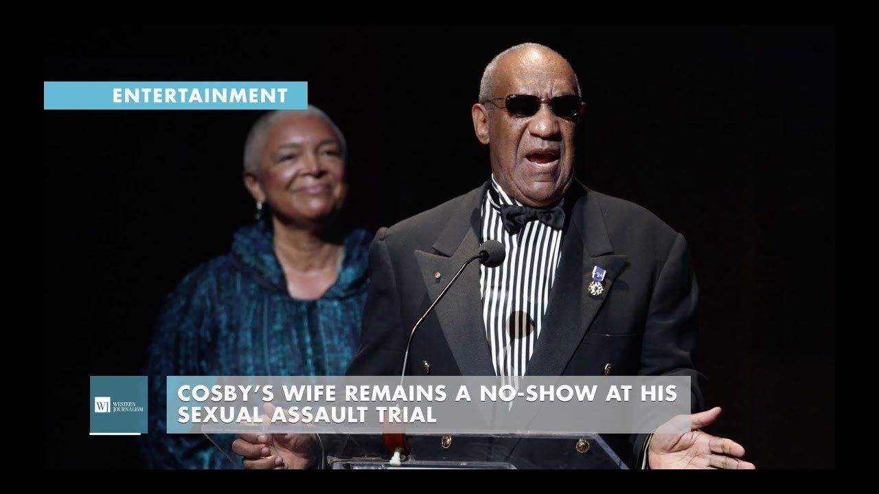 Cosby's Wife Remains A No-Show At His Sexual Assault Trial
