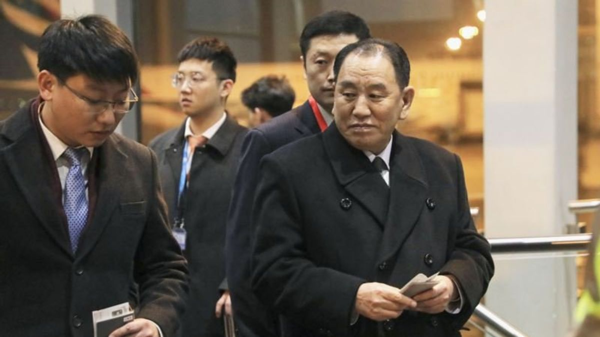 N. Korea Envoy in US for Talks with Pompeo, Possibly Trump