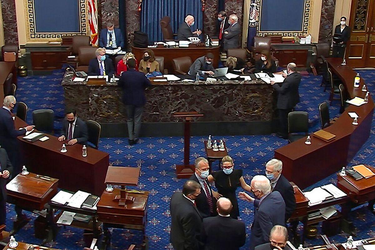 Biden Wants to Restore Senate's Talking Filibuster