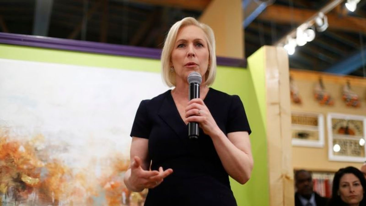 Gillibrand Says She'll Only Pick Judges Who Back Roe v. Wade