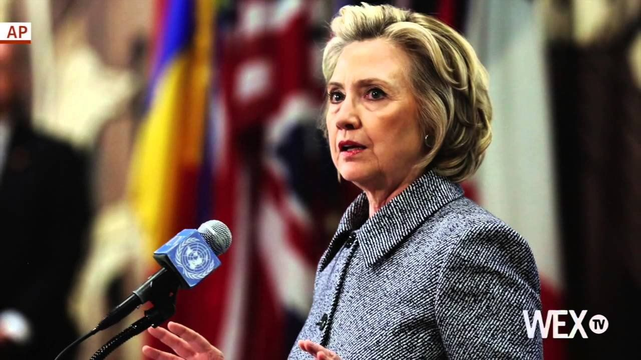 Bad news sinks in, Clinton poll numbers go down