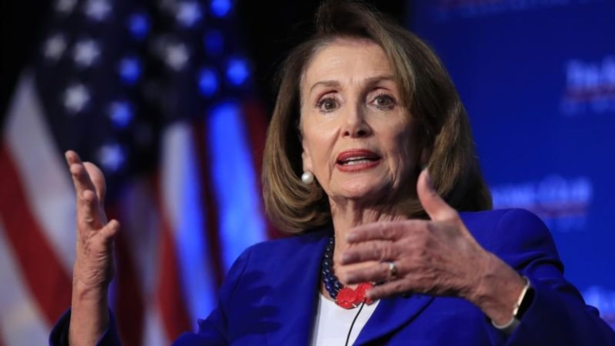 Pelosi Waves Off Impeachment, Says it Would Divide Country