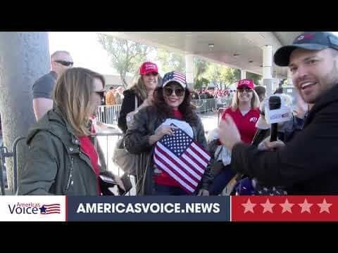 Ben Bergquam Speaks with Trump Supporters from California