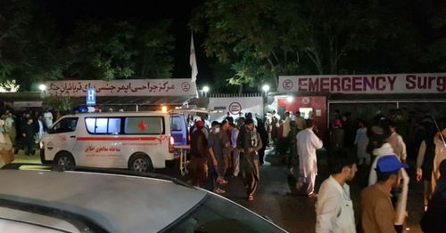 Suicide bomber in Afghanistan kills 37 Shiite worshippers in mosque