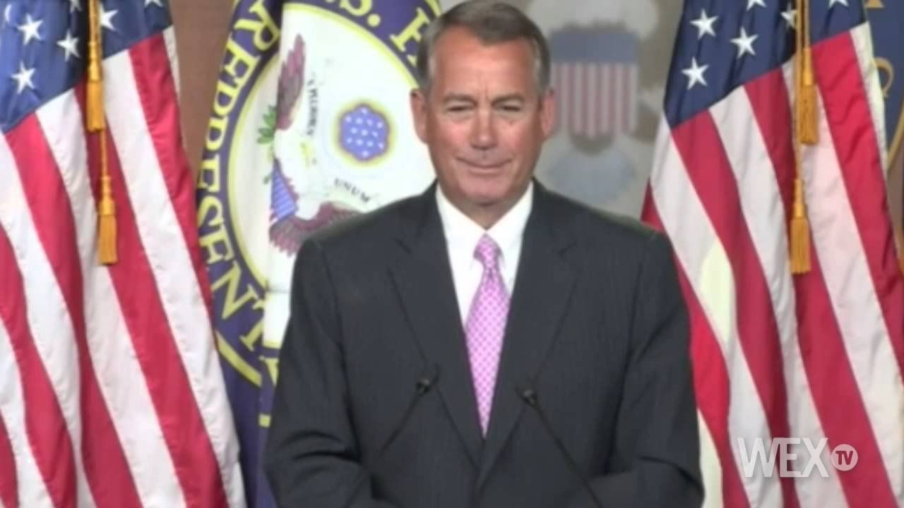 Speaker Boehner doubtful votes are there to raise gas tax