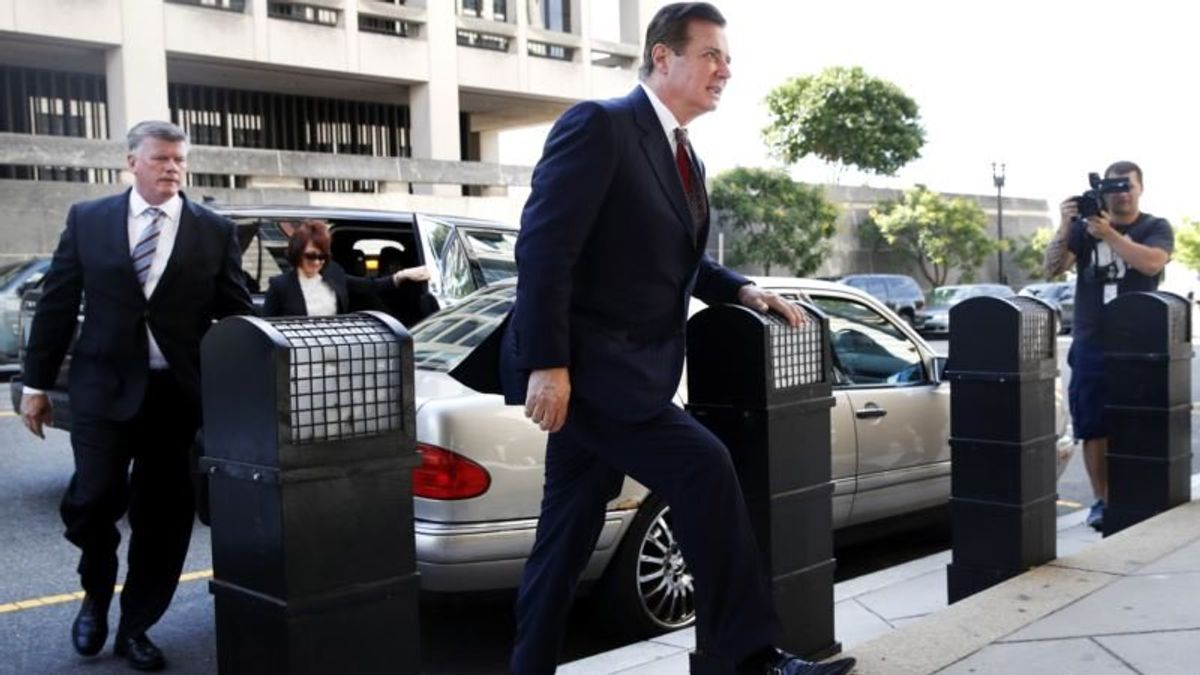 Key Players in US Case Versus  Manafort