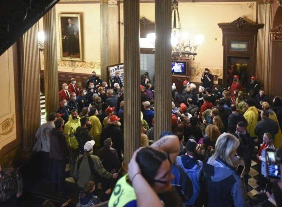 Michigan Has Become a Powder Keg; Is Society Beginning To Breakdown Amid COVID-19?