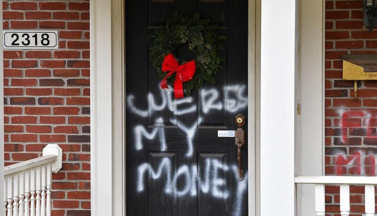 Homes of Top Republican and Democrat Vandalized