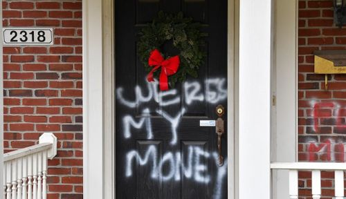 Homes of Top Republican and Democrat Vandalized