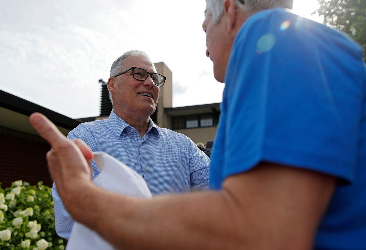 Inslee Ends Bid for Democrats' Presidential Nod