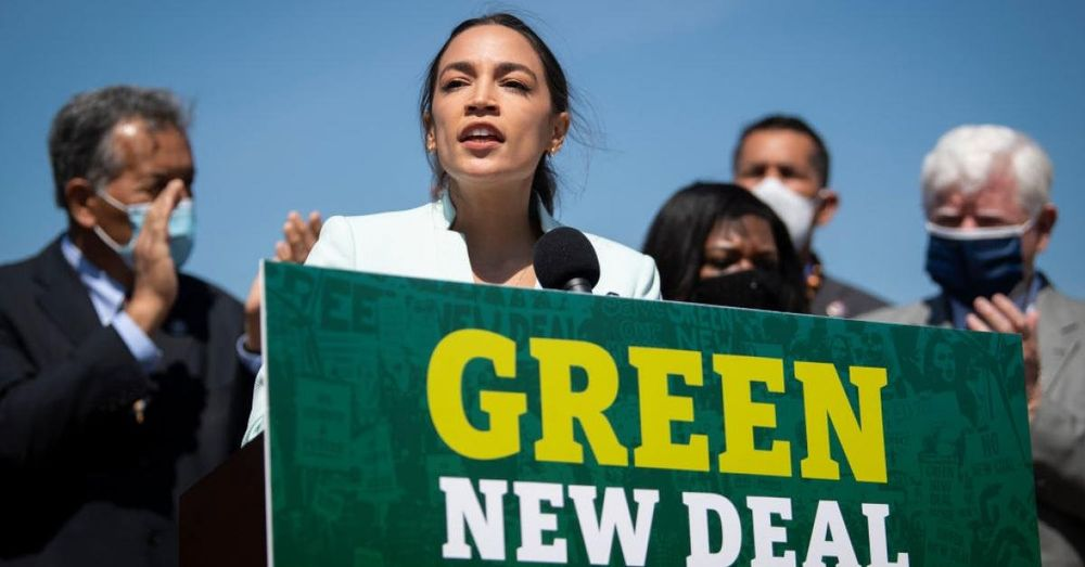 Ocasio-Cortez: Biden jobs plan doesn't 'match the vision' he put forward on climate change
