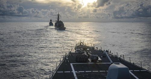 Navy report finds significant failures across leadership positions in fire that destroyed ship