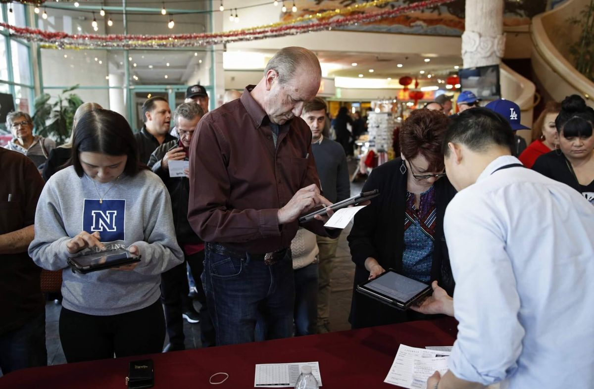 Early US Democratic Presidential Caucus Voting Starts in Nevada