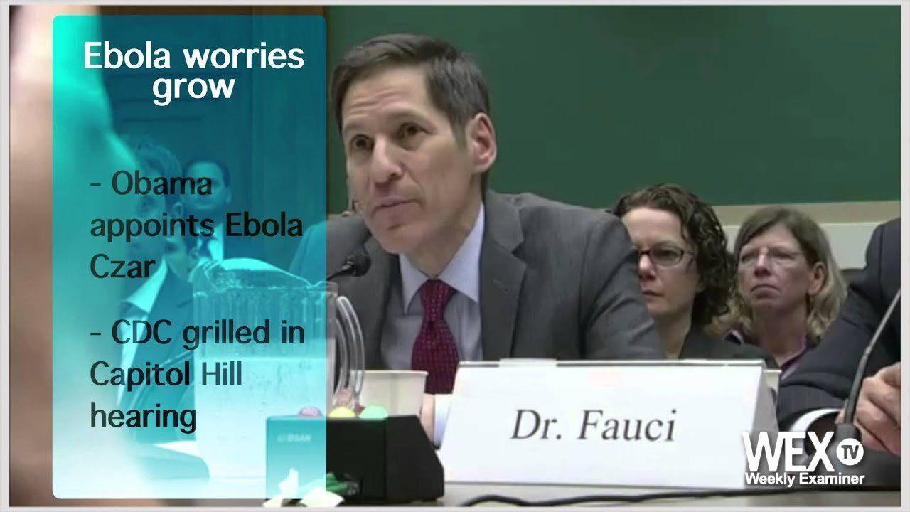 Weekly Examiner: Obama appoints Ebola czar