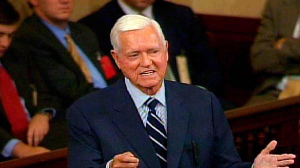 Former South Carolina Senator Hollings Dies at 97