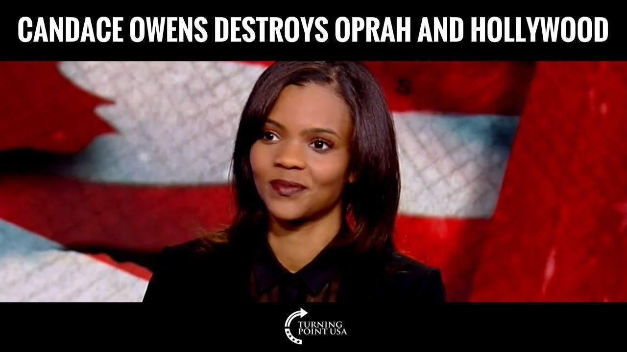 Turning Point USA's Candace Owens Destroys Oprah & Hollywood