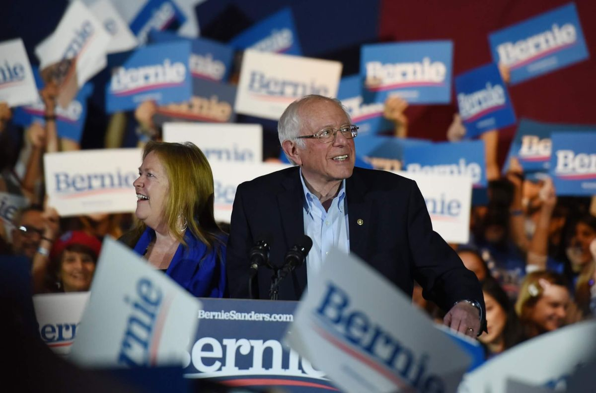From Fringe Candidate to Front-Runner: Sanders Wins Nevada With Diverse Backers