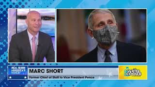 """Dr. Fauci """"very adamant saying that this was not manufactured, it was a naturally occurring virus"""""""