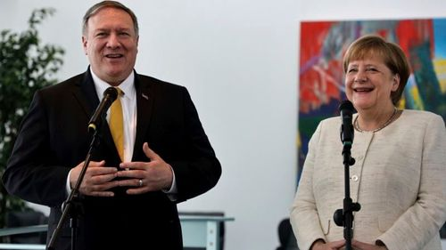 US Secretary of State Discusses Iran with German Officials