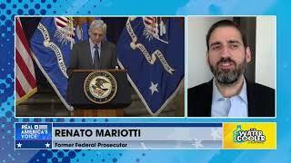 "Renato Mariotti says, ""Former Attorney General Barr politicized the Justice Department."""