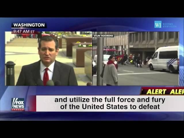 After Brussels Terrorist Attack, Watch Cruz And Trump Say What Obama Can't