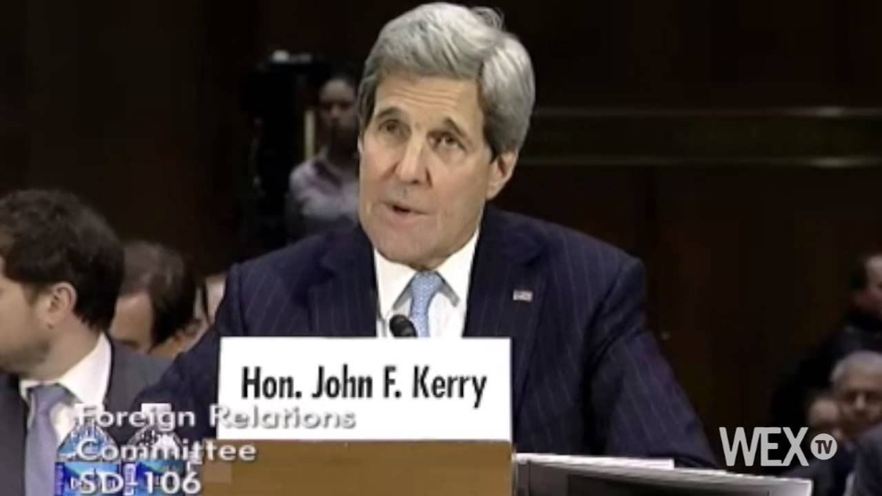 """John Kerry on AUMF: """"We have the authority"""""""