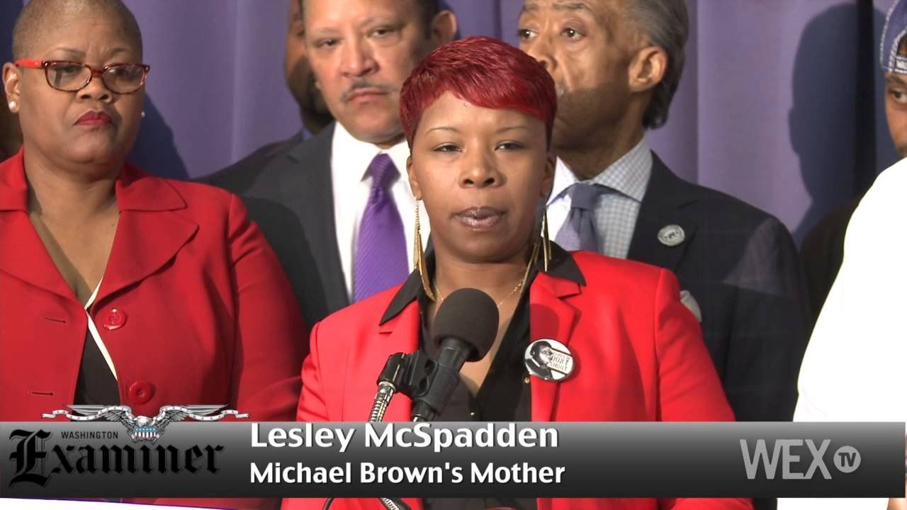 In D.C., Michael Brown's family calls for formal investigation