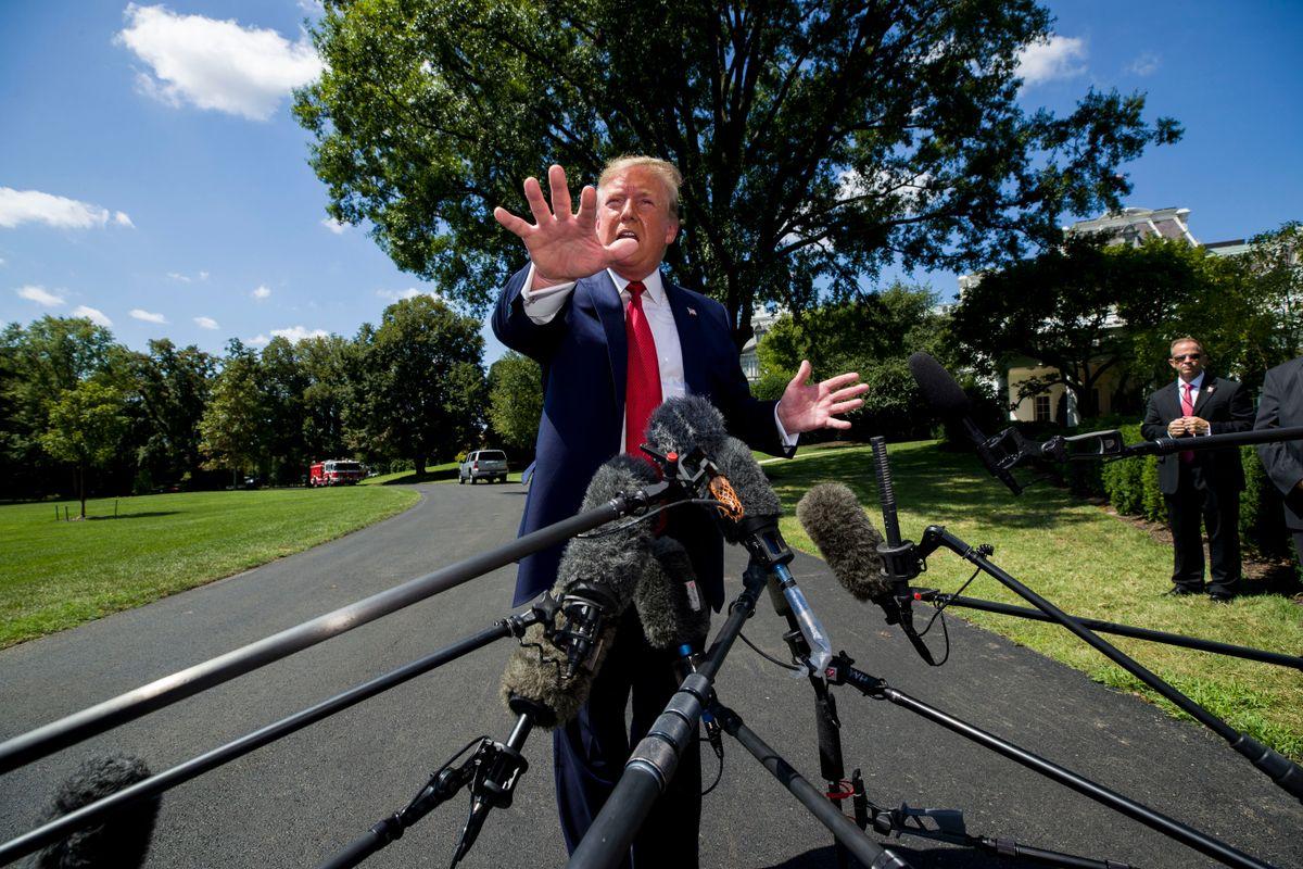 Trump Again Says He'd End Birthright Citizenship