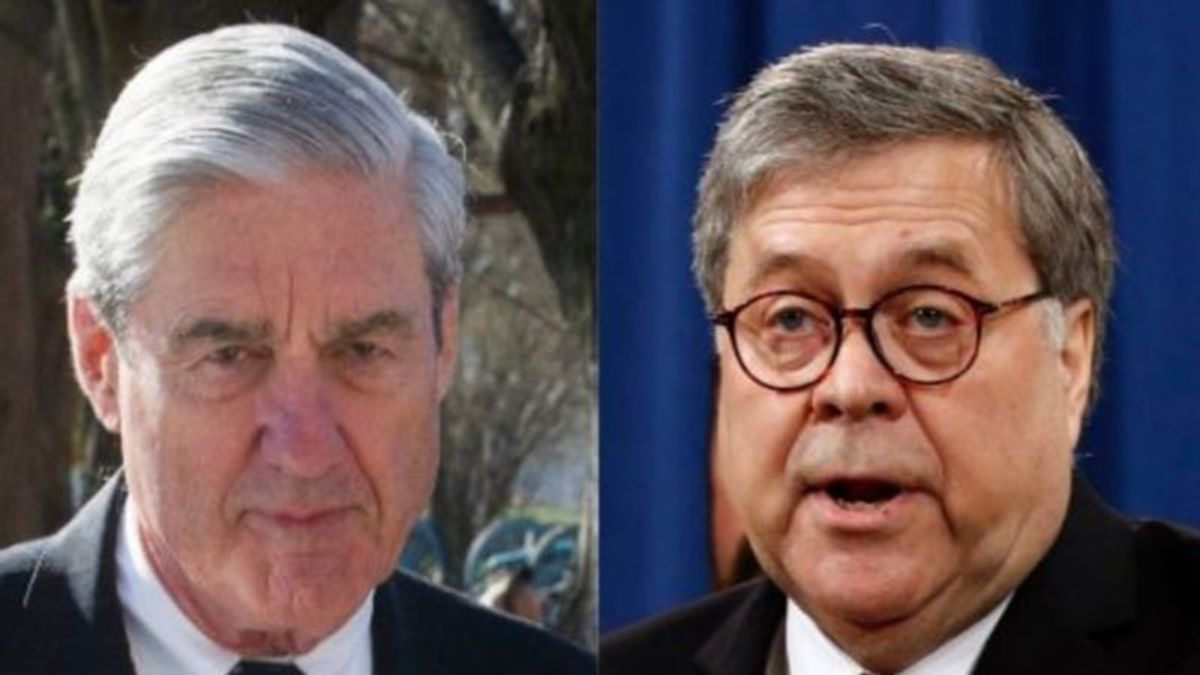 DOJ Official: Mueller Frustrated With Barr Over Portrayal of Findings