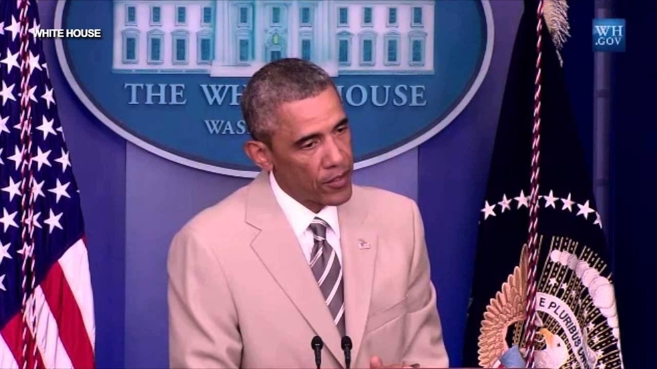 Obama: No military solution to the 'Ukrainian problem'