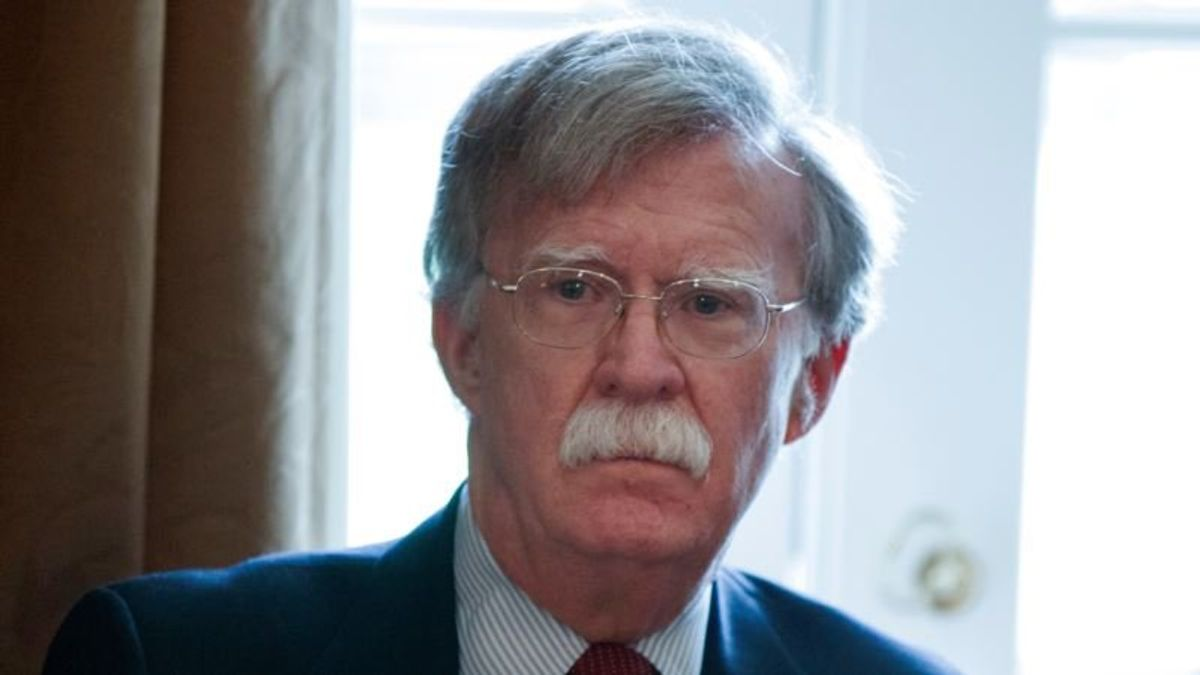Bolton May Meet Russian Security Official By End of Summer