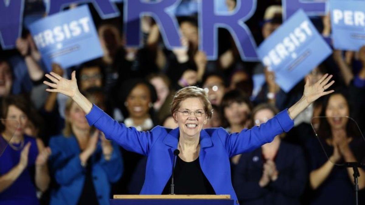 Elizabeth Warren Makes Big Move Toward 2020 US Presidential Run