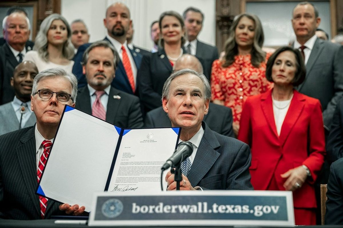 Texas Governor Abbott Leads GOP Push for Trump-Style Border Measures