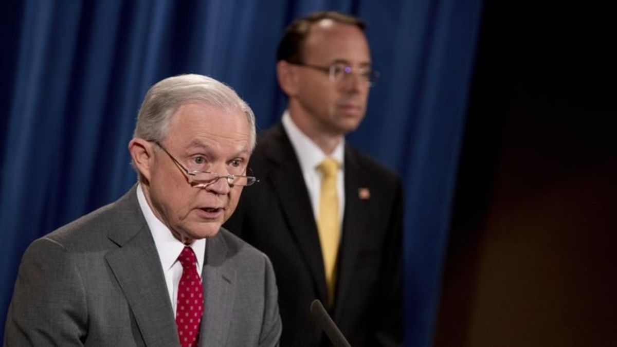 US Attorney General Backs Deputy Against Impeachment Demand