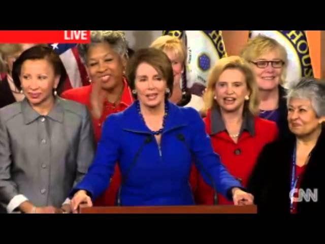 Nancy Pelosi mocks Luke Russert for asking 'offensive' question