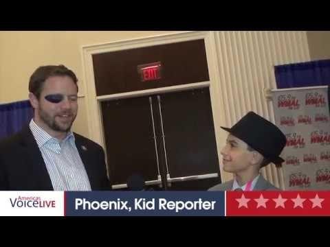 Dan Crenshaw and Phoenix Kid Reporter Interview
