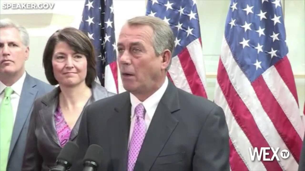 Boehner: Time for Senate 'to do their job'