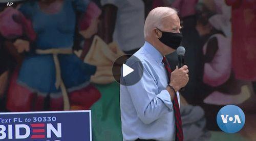Trump Biden Presidential Race Focuses on Pandemic and Florida