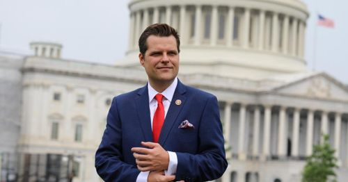 California man arrested for allegedly threatening to kill Matt Gaetz and members of his family