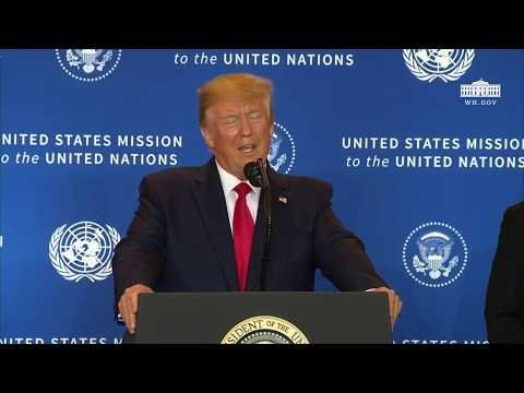 President Trump Participates in a Press Conference
