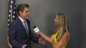 Miranda Khan interviews Congressman Matt Gaetz at America First Rally