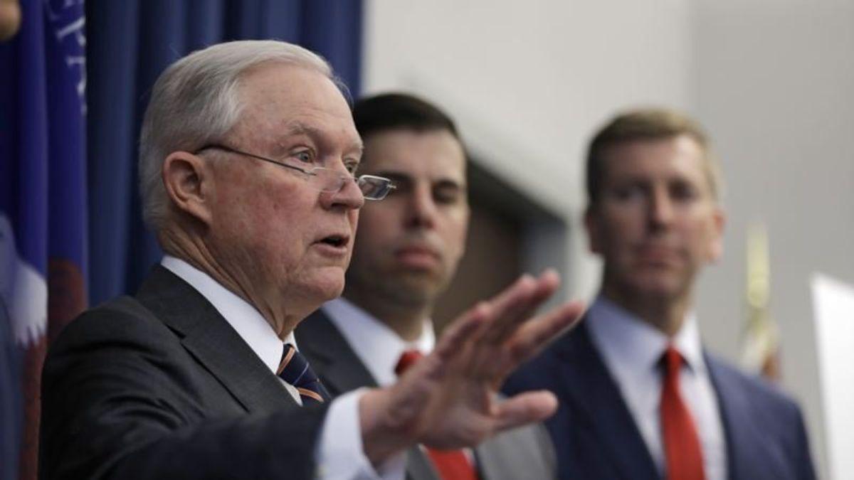 Republicans Hit Trump for Criticizing Justice Department