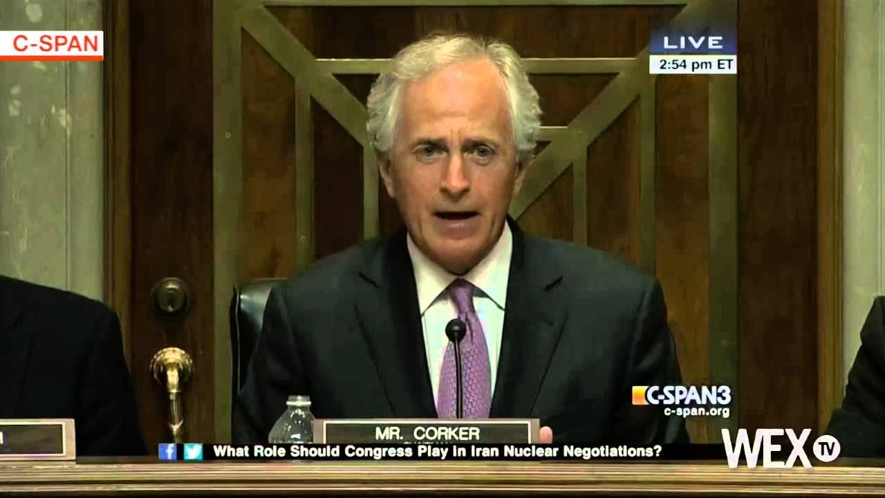 Corker pushes for approval of Iran bill