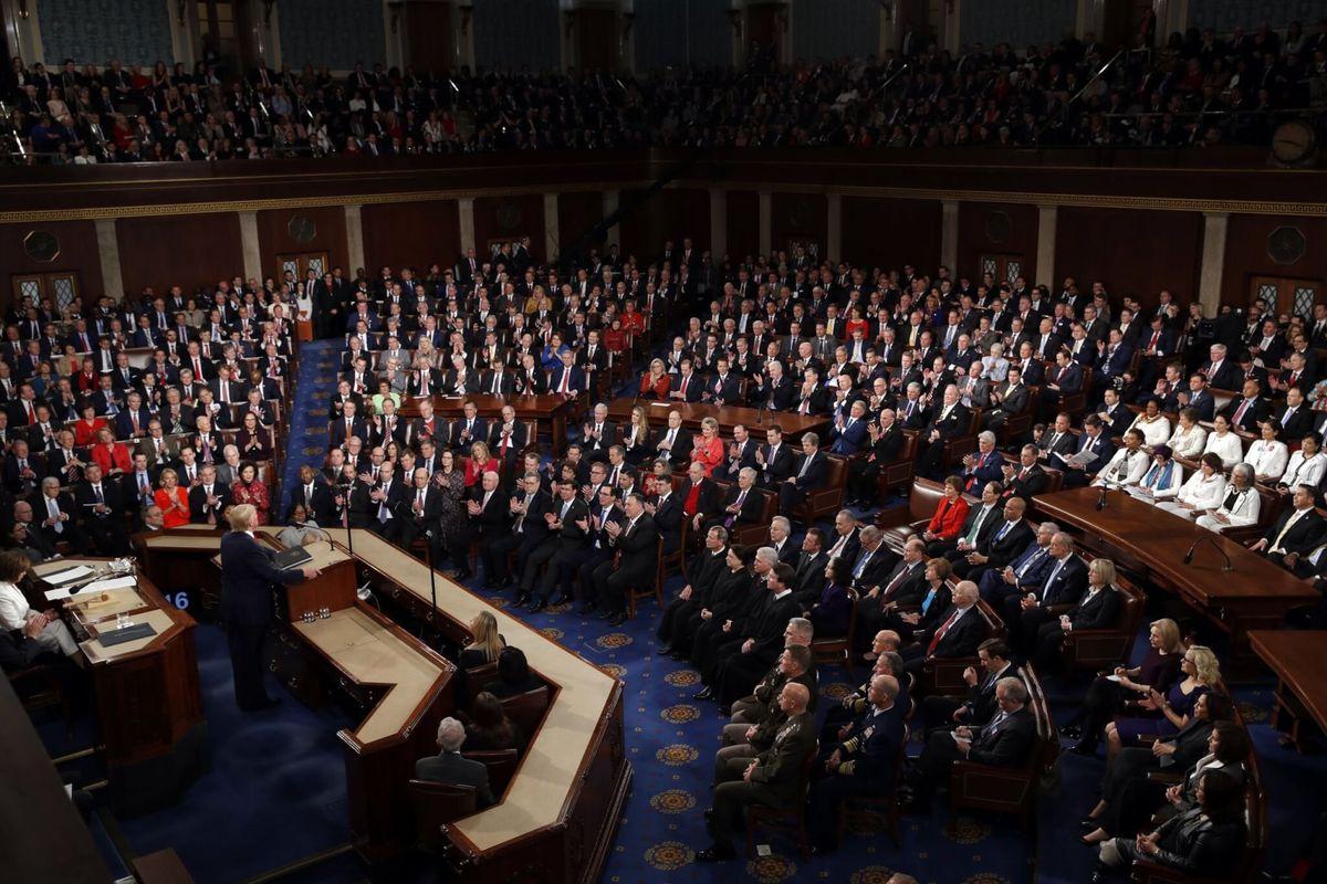 Republicans, Democrats View Trump's Speech Differently