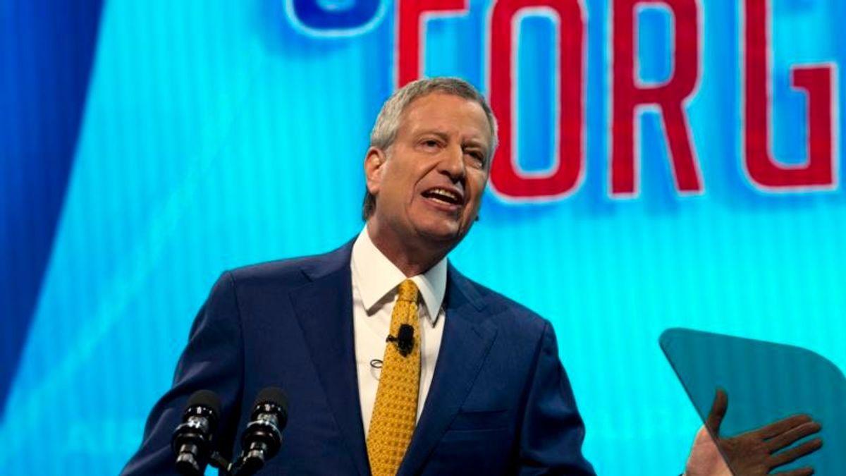NYC Mayor de Blasio Seeking Democratic Nod for President