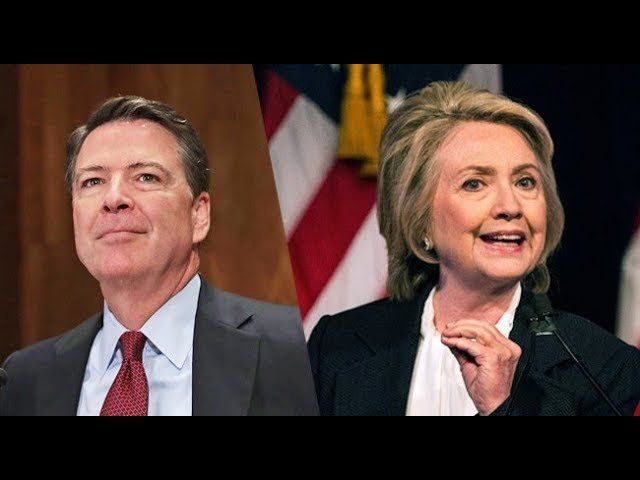 AG BARR DECLINES TO PROSECUTE JAMES COMEY FOR LEAKED MEMOS BUT MAY ON FISA FRAUD/NO JAIL FOR HILLARY