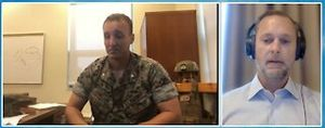 Marine Lt. Col. Stuart Scheller receives sentencing in special court martial plea