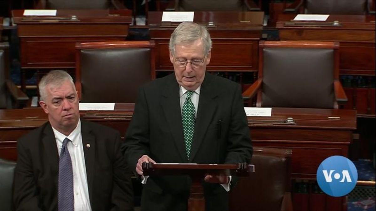 12 Republican Senators Join Democrats in Vote to Reject Trump's National Emergency Declaration