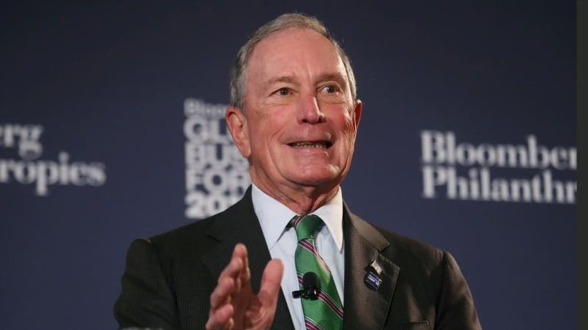 Bloomberg Donating $20M to Democratic US Senate Candidates